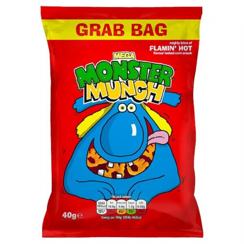 MEGA MONSTER MUNCH FLAMING HOT